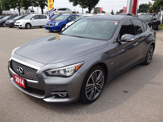 Q50 Black Roof >> 2014 Infiniti Q50 Premium - 1 Owner w/ Navi, Leather, Roof - Rexdale, Ontario Used Car For Sale ...