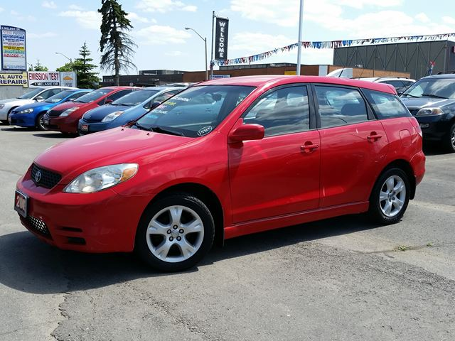 2003 toyota matrix xr brampton ontario used car for. Black Bedroom Furniture Sets. Home Design Ideas