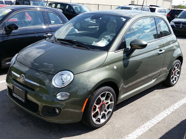 2015 fiat 500 sport milton ontario new car for sale 2200595. Black Bedroom Furniture Sets. Home Design Ideas