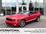 2008 Ford Mustang SHELBY GT500 CONVERTIBLE! LOW KMS! in Calgary, Alberta