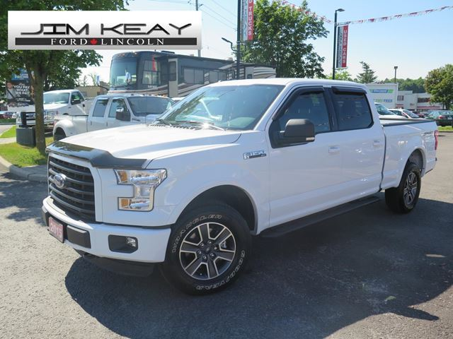2015 ford f 150 xlt supercrew w sport package oxford white jim keay ford lincoln parry. Black Bedroom Furniture Sets. Home Design Ideas