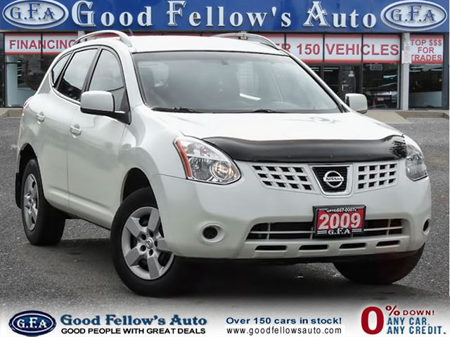 2009 nissan rogue s model north york ontario used car. Black Bedroom Furniture Sets. Home Design Ideas