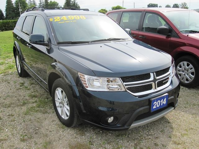 2014 dodge journey sxt mount forest ontario car for sale 2207175. Black Bedroom Furniture Sets. Home Design Ideas