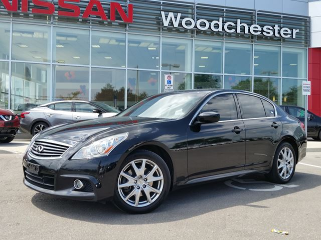 2011 infiniti g37x sedan sport black woodchester nissan. Black Bedroom Furniture Sets. Home Design Ideas