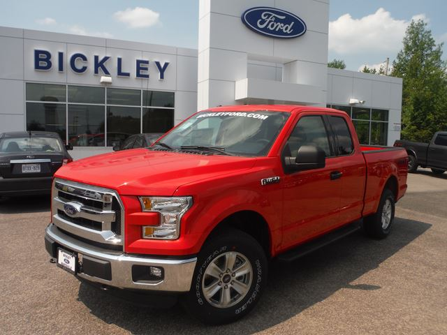 2015 ford f 150 xl red bickley ford new car. Black Bedroom Furniture Sets. Home Design Ideas