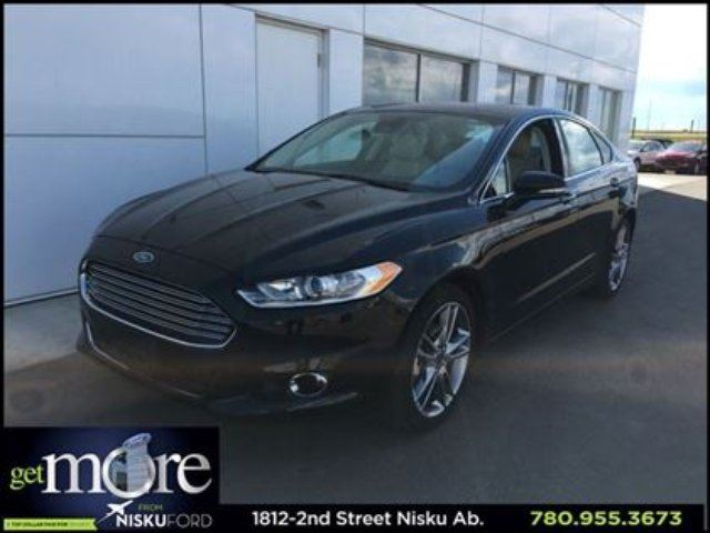 2014 FORD Fusion SE All Wheel Drive Navigation Moonroof Leather and in Leduc, Alberta