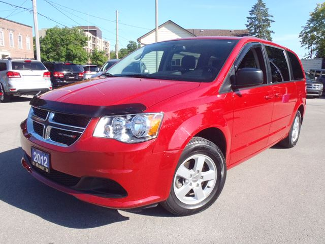 2012 dodge grand caravan sxt red manley motors limited for Manley motors used cars