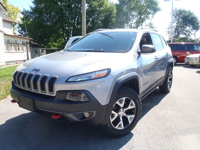 2015 jeep cherokee trailhawk steel manley motors limited for Manley motors used cars