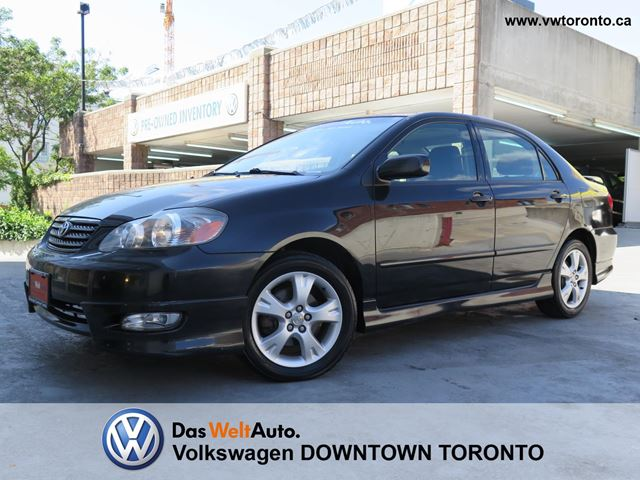 2005 toyota corolla xrs toronto ontario used car for sale 2215244. Black Bedroom Furniture Sets. Home Design Ideas