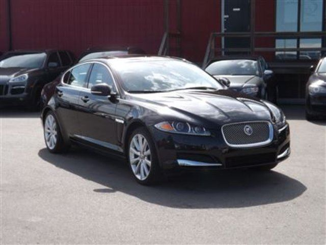 2013 JAGUAR XF 3.0L Supercharged/AWD/LEATHER/ROOF in Calgary, Alberta