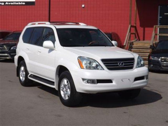 2006 LEXUS GX 470 Premium 4WD/NAVI/B.CAM/DVD/LEATHER/ROOF in Calgary, Alberta