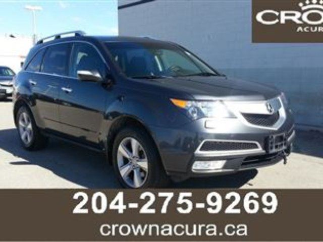 2013 acura mdx technology package winnipeg manitoba used car for sale 2215828. Black Bedroom Furniture Sets. Home Design Ideas