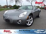 2006 Pontiac Solstice Leather, Manual, Sport Suspension, Convertable! in Pickering, Ontario