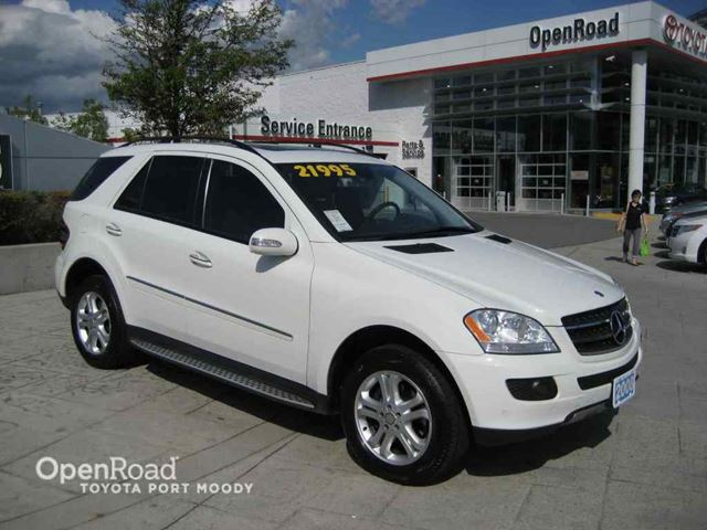 2008 mercedes benz m class ml350 white openroad toyota for 2008 mercedes benz m class ml350