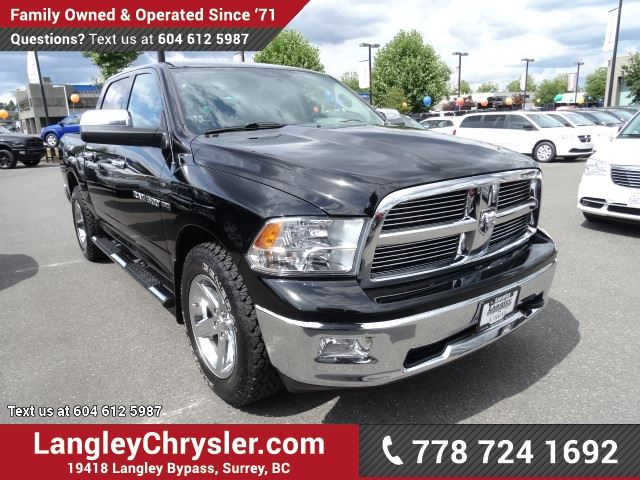 2012 dodge ram 1500 slt w power accessories a c in surrey british. Cars Review. Best American Auto & Cars Review