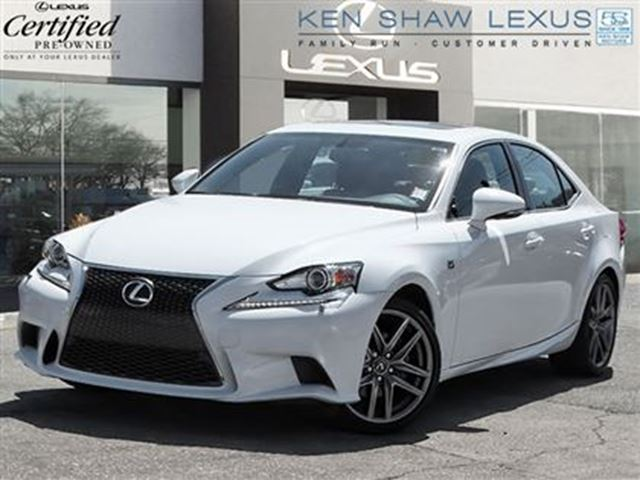 2014 lexus is 250 f sport premium package toronto ontario used car for sale 2220975. Black Bedroom Furniture Sets. Home Design Ideas