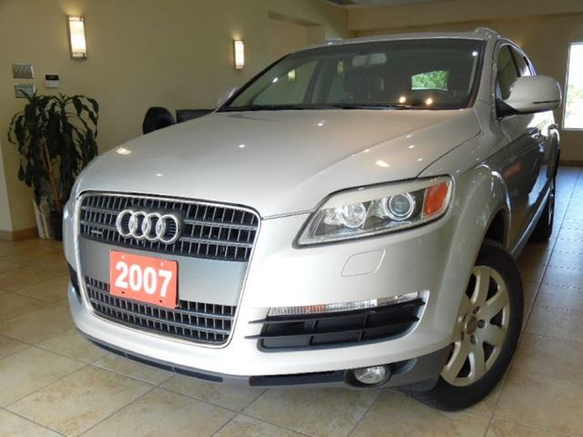 2007 audi q7 3 6 quattro 7 passenger etobicoke ontario. Black Bedroom Furniture Sets. Home Design Ideas