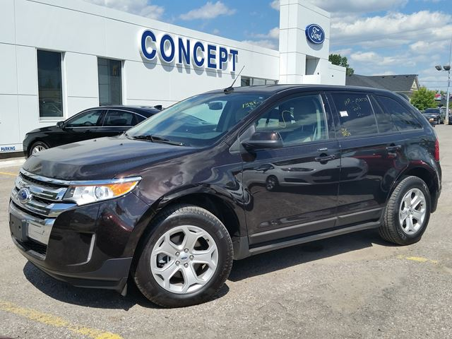 2014 ford edge sel georgetown ontario used car for sale 2220991. Black Bedroom Furniture Sets. Home Design Ideas