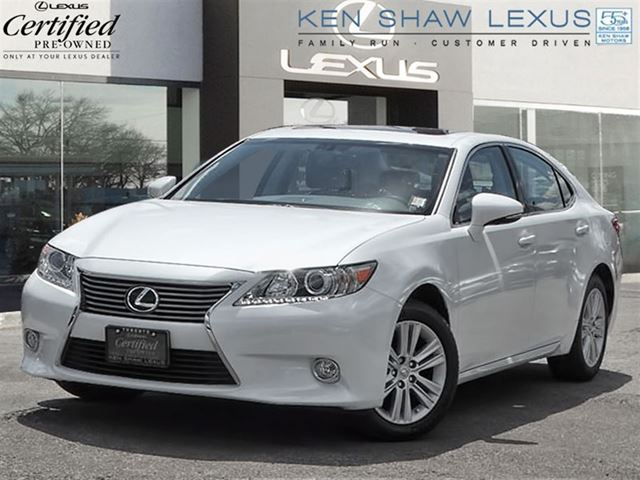 2013 lexus es 350 premium package with 10796 km toronto ontario used car for sale 2224192. Black Bedroom Furniture Sets. Home Design Ideas