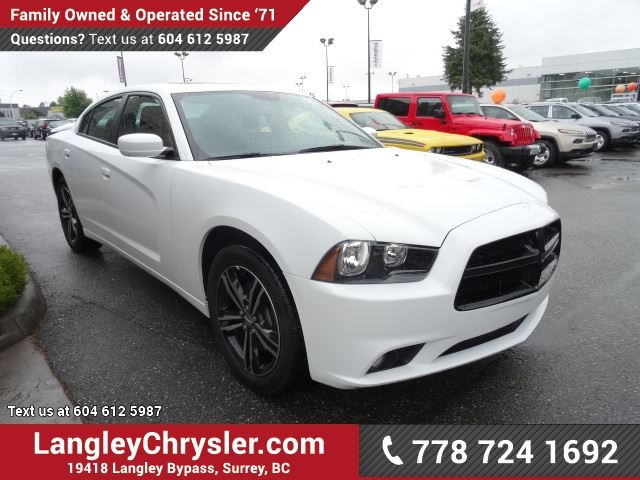 2014 Dodge Charger Sxt W Sunroof Heated Seats Surrey British Columbia Used Car For Sale