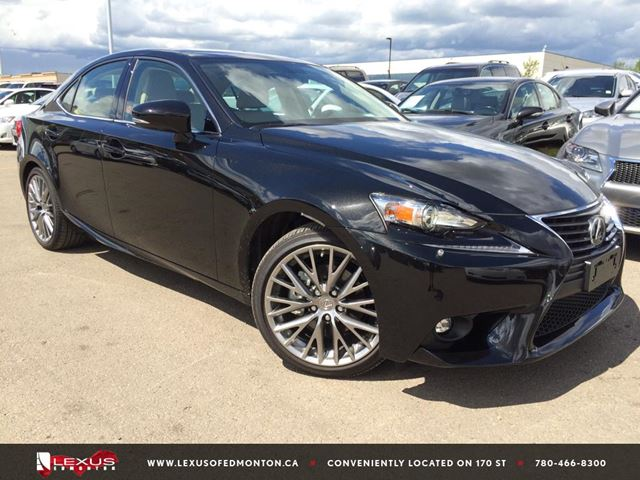2015 lexus is 250 edmonton alberta used car for sale 2224444. Black Bedroom Furniture Sets. Home Design Ideas