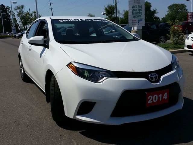 2014 toyota corolla le stouffville ontario used car for sale 2225684. Black Bedroom Furniture Sets. Home Design Ideas