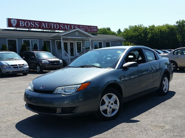 2007 saturn ion ion 2 midlevel grey boss auto sales. Black Bedroom Furniture Sets. Home Design Ideas