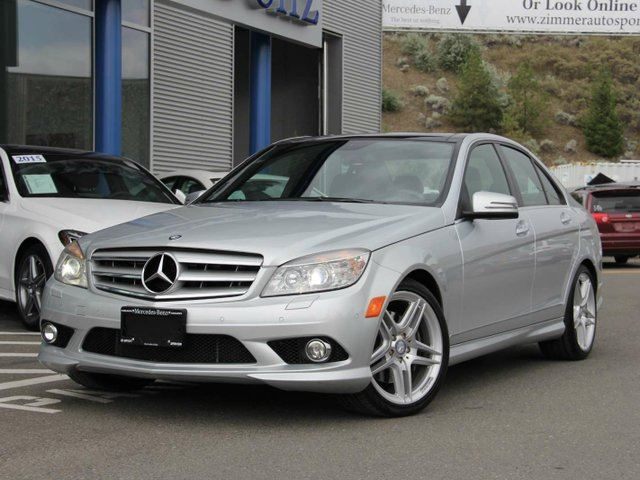 2010 mercedes benz c class c350 4matic kamloops british for Mercedes benz 2010 c class