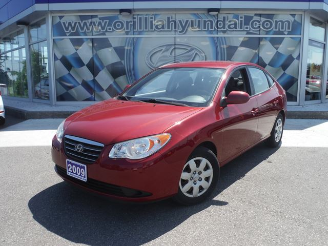 2009 hyundai elantra gl all in pricing orillia ontario. Black Bedroom Furniture Sets. Home Design Ideas