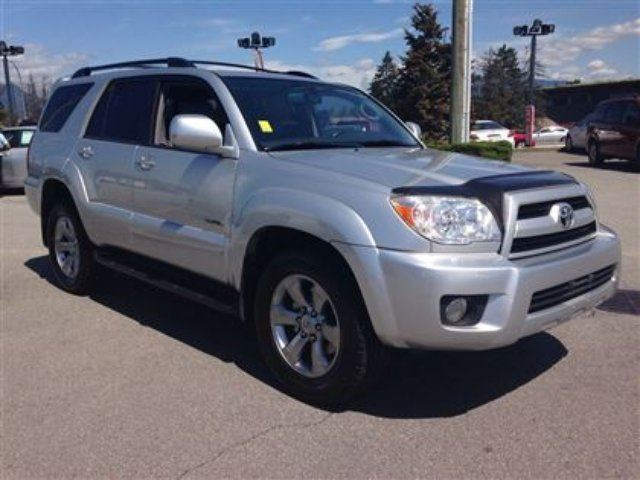 2008 toyota 4runner limited v6 pitt meadows british columbia used car for sale 2228210. Black Bedroom Furniture Sets. Home Design Ideas