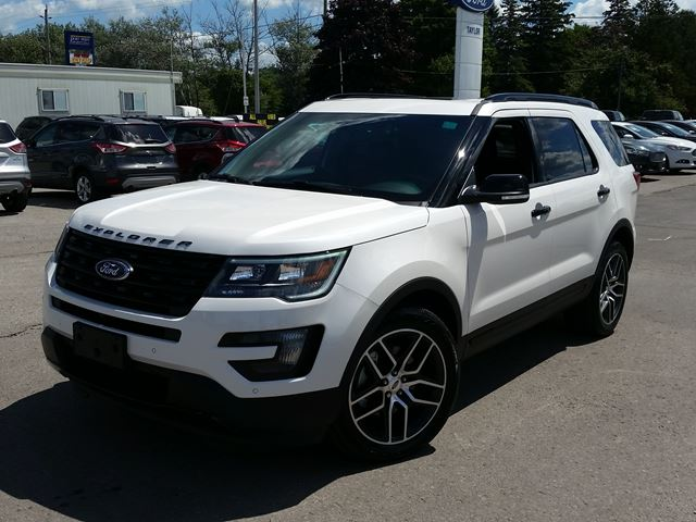 2016 ford explorer sport port perry ontario new car for sale 2228745. Black Bedroom Furniture Sets. Home Design Ideas