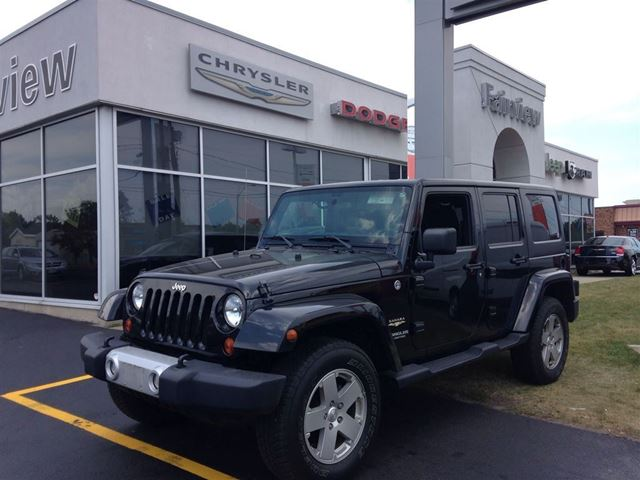 2011 Jeep Wrangler Unlimited Sahara 1 Owner Accident Free