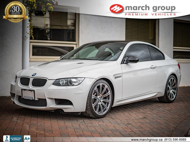 2009 bmw m3 coupe ottawa ontario used car for sale. Black Bedroom Furniture Sets. Home Design Ideas