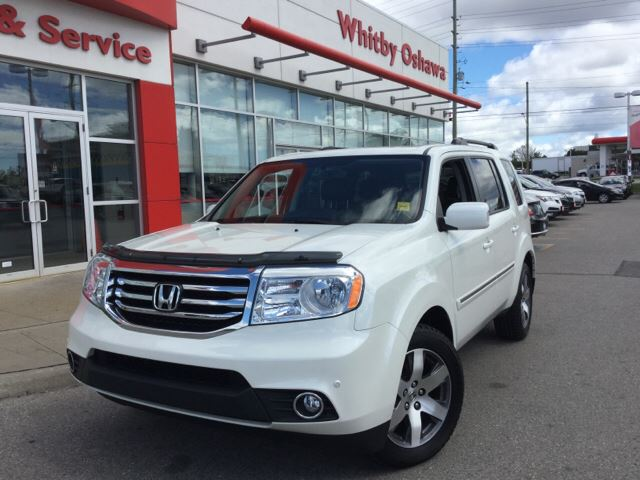 2014 honda pilot whitby ontario used car for sale 2233471 for 2014 honda pilot gas mileage