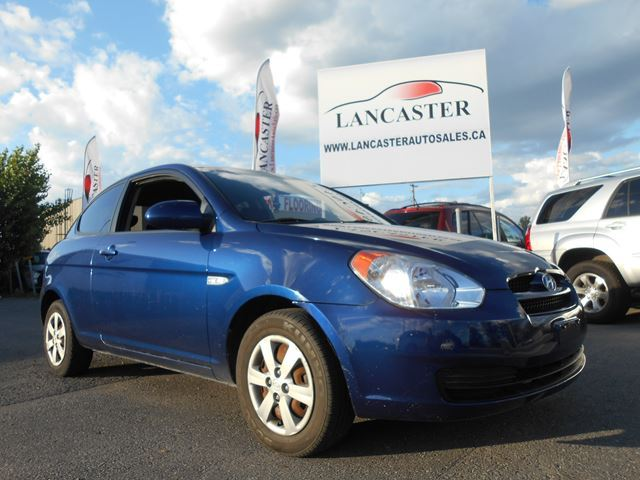 2009 hyundai accent man gl ottawa ontario used car for. Black Bedroom Furniture Sets. Home Design Ideas