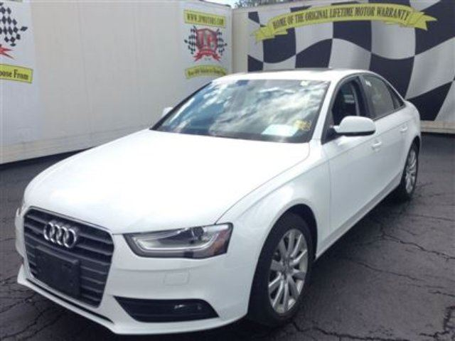 2013 Audi A4 2 0t Automatic Leather Sunroof Awd White