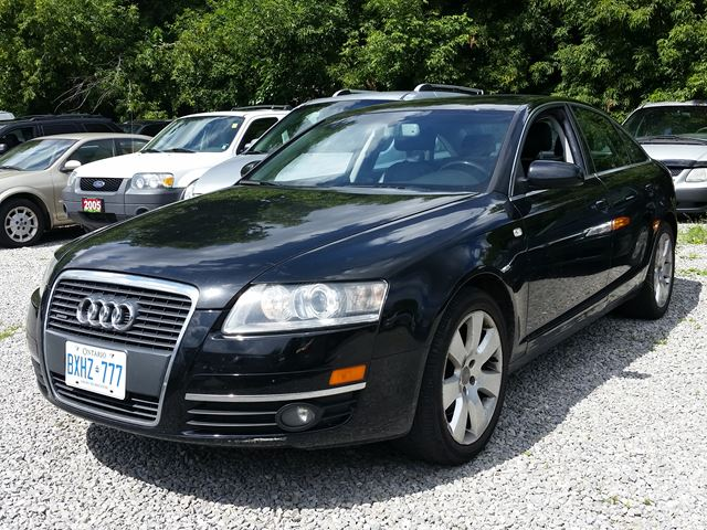 2006 audi a6 3 2l black golden millennium auto sales ltd. Black Bedroom Furniture Sets. Home Design Ideas