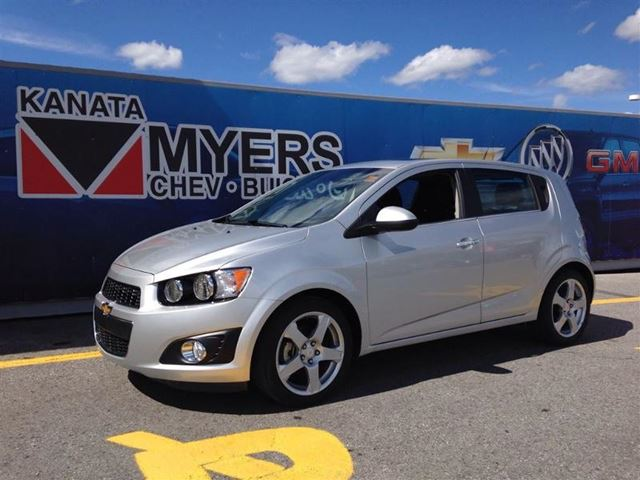 2014 chevrolet sonic lt ottawa ontario used car for. Black Bedroom Furniture Sets. Home Design Ideas