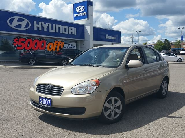 2007 hyundai accent aurora ontario used car for sale. Black Bedroom Furniture Sets. Home Design Ideas