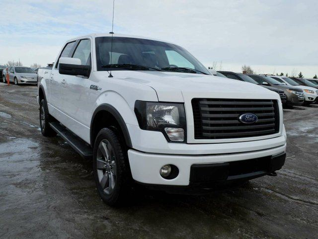 2012 ford f 150 fx4 4x4 supercrew cab 5 5 ft box 145 in wb white go auto outlet. Black Bedroom Furniture Sets. Home Design Ideas