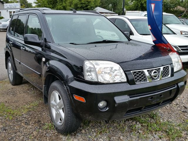 2005 nissan x trail le 4x4 brampton ontario used car. Black Bedroom Furniture Sets. Home Design Ideas