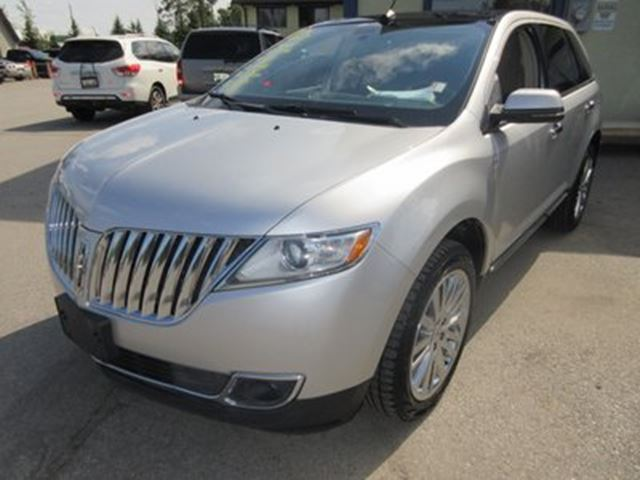 2013 lincoln mkx loaded all wheel drive 5 passenger leather he silver broadway auto sales. Black Bedroom Furniture Sets. Home Design Ideas