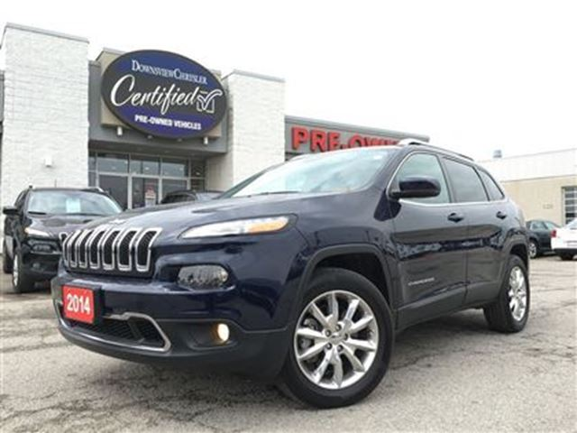 2014 jeep cherokee limited award winning suv great mileage pa blue downsview chrysler. Black Bedroom Furniture Sets. Home Design Ideas