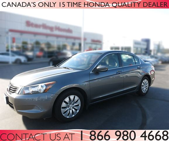 2009 honda accord lx up to date maintenance grey. Black Bedroom Furniture Sets. Home Design Ideas