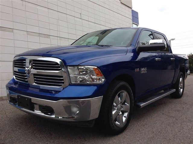 2015 ram 1500 big horn crew cab hemi blue cooksville dodge chrysler. Black Bedroom Furniture Sets. Home Design Ideas