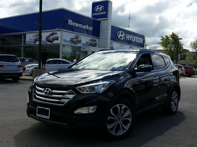 2016 hyundai santa fe limited newmarket ontario new car for sale 2240654. Black Bedroom Furniture Sets. Home Design Ideas