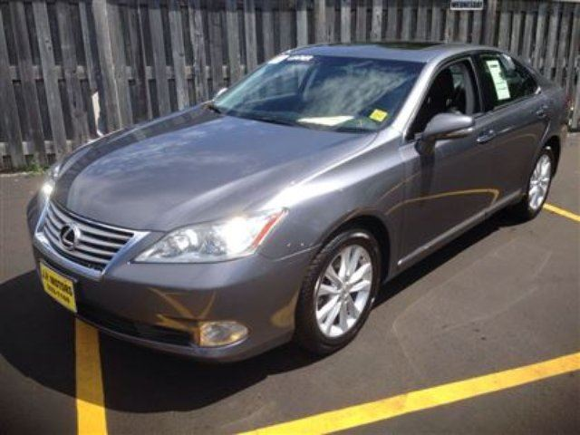 2012 lexus es 350 automatic leather alloy 39 s sunroof. Black Bedroom Furniture Sets. Home Design Ideas