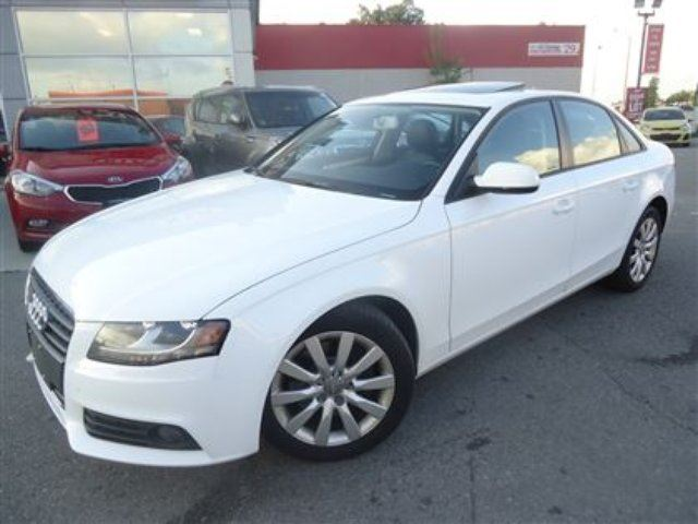 2010 audi a4 2 0t 6spd leather sunroof white. Black Bedroom Furniture Sets. Home Design Ideas