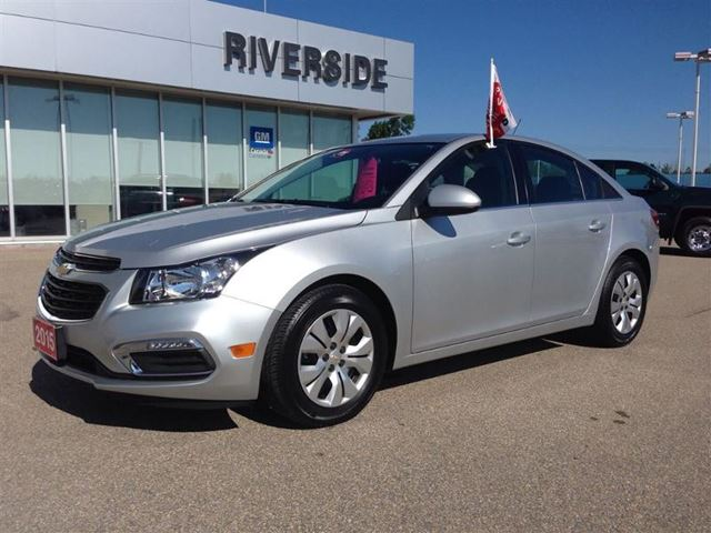 2015 chevrolet cruze lt w 1lt prescott ontario used car for sale 2241730. Black Bedroom Furniture Sets. Home Design Ideas