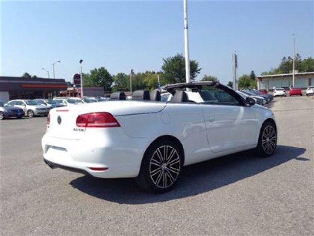 2015 Volkswagen Eos Wolfsburg Edition 2 0t 6sp Dsg At W